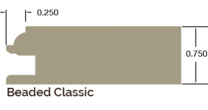 0.250 Beaded Classic